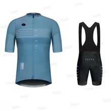 Ralvpha 2020 Maillot ciclismo hombre bike jersey Pro summer bike team mtb jersey bike short sleeve bike set ropa Maillot nw cheap honu fast 100 Polyester Lycra polyester Factory Direct Sales 80 Polyester and 20 Stretch Spandex cycling jersey set