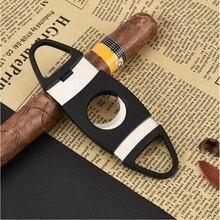 1 шт. сигары ножницы с нержавеющей стали, сигары ножницы делают сигару полной и гладкой, сигары ножницы имеют высокое качество