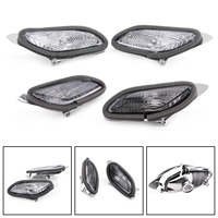 Areyourshop For Honda ST1300 2002 2009 Motorcycle Replacement Front Turn Signals Light Lens Clear Indicator Blinker Cover