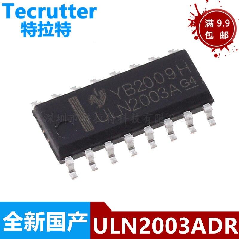 Новый и оригинальный чипсет IC ULN2003A SOP16 uln2003длиr ULN2003 2003 SOP-16 SOP SMD, 10-20 шт.