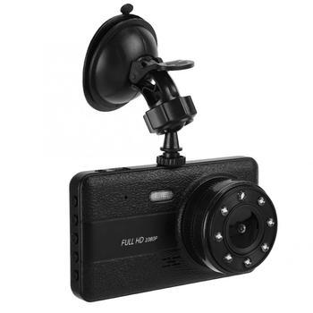 1080 HD 4inch Dual Lens Car DVR Driving Recording Camera 170 Degrees Built-in G-Sensor 32GB car accessories car dash camera