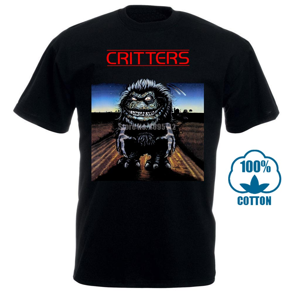 Critters Cult Movie Male Retro Tshirts Runes T-Shirts Satan Shirt Skeleton Shirts Discounts Sale Cvapwd image