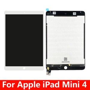 Para ipad mini 4 a1538 a1550 display lcd tela de toque substituição do conjunto do painel para ipad mini4 lcd digitador