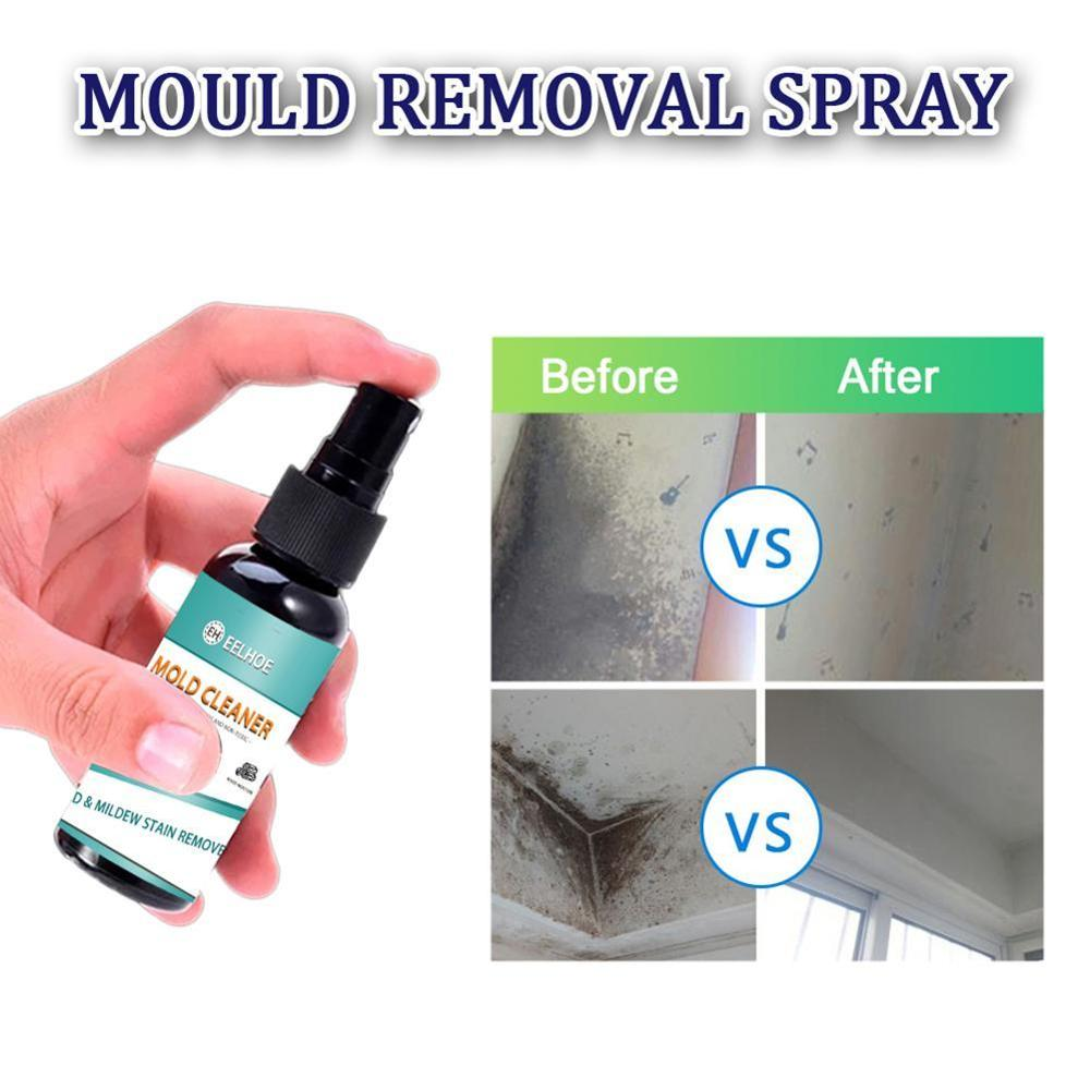 100ml Mould & Mildew Remover Kitchen Spray Cleaner Cleaning House Inhibitor Bathroom Home Cleaning Mold Removal