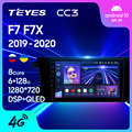 TEYES CC3 Штатная магнитола For Грейт Волл Ховер Хавал Ф7 Ф7х For GREAT WALL Hover Haval F7 F7X 2019 - 2020 до 8-ЯДЕР до 27EQ + DSP автомагнитола 2 DIN DVD GPS android 10 мультимедиа ав...