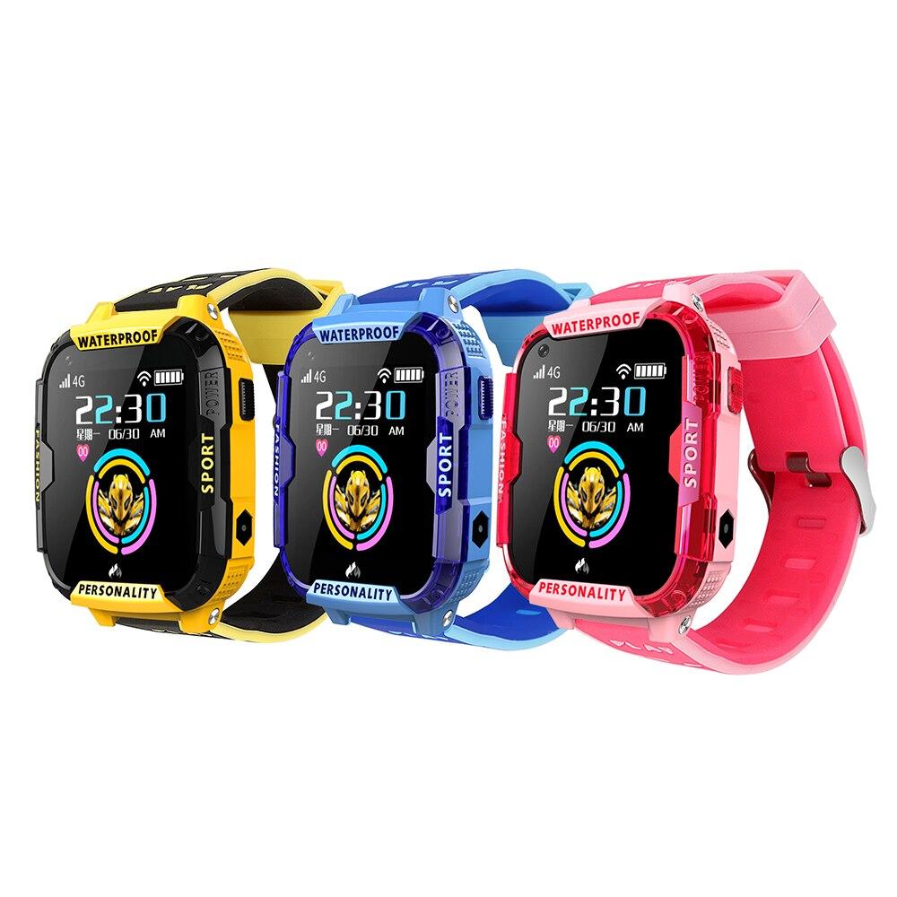 Kids Smart Watch 4G Wifi GPS Tracker Smartwatch Kids 4g Watch Phone Video Call Waterproof Smart Watch for Children