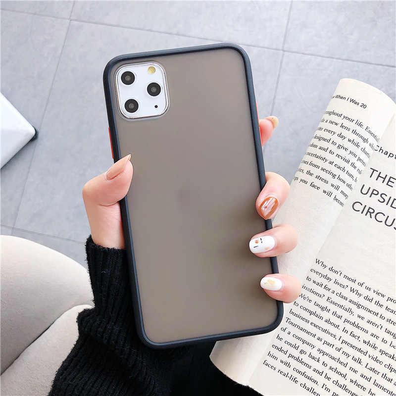INIU матовый чехол для телефона ТПУ бампер задняя крышка смартфона чехол силиконовый роскошный чехол для iPhone 11 Pro Xs Max Xr X 8 7 6 6s Plus