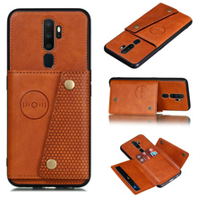 Leather PU Wallet Case For OPPO A9 2020