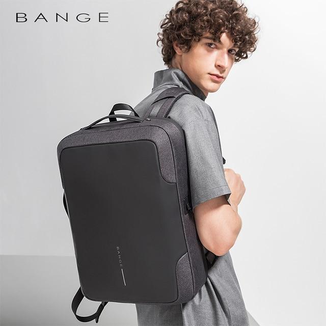 Bange Men Multifunction USB charging Backpack Anti-thief 15.6inch Laptop Backpacks Teenager Fashion Male Mochila Travel backpack 3
