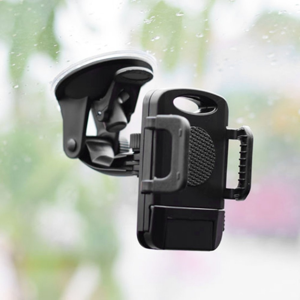 360 Degree Rotating Smart Phone GPS Universal Car Holder Adjustable Mount Bracket For 3.5-6.5 Inch Mobile Phone