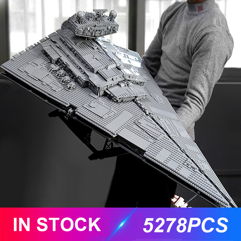 Lepinblocks 81098 Compatible Wars Plan 75252 UCS Imperial Star Destroyer Building Bricks Educational Toys Christmas Xmas Gift
