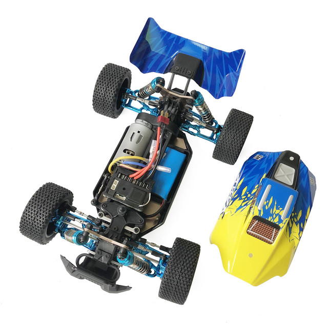 XLF F16 RTR 114 RC Racing Car2.4G 4WD 60km/h Metal Chassis Full Proportional Remote Radio Controlled Vehicles Model for Kids