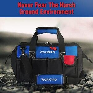 """Image 5 - Workpro 14 """"ツールバッグ防水ベース工具収納バッグショルダーバッグハンドバッグ送料無料"""
