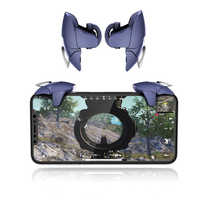Hot 2Pcs PUBG Moible Controller Gamepad Free Fire L1 R1 Trigger for iPhone Android Phone PUGB Mobile keypads Grip L1R1 Joystick