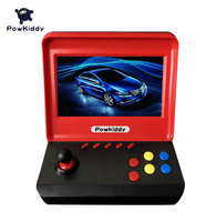 Powkiddy A9 Game Console Video Game Classic Retro Player 7.0 Inches HD Screen with 3000 Games with Two Gamepads Support TF Card