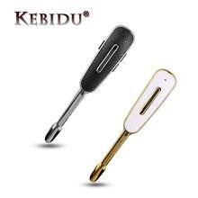 Business Bluetooth Headset Ear-Hook Microphone-Stereo Mobile-Phone Samsung Kebidu Wireless
