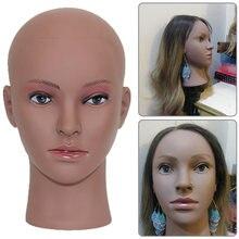 Горячая Распродажа лысый Африканский манекен голова без волос