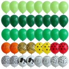 40 шт., набор агатовых зеленых шаров, 12 дюймов