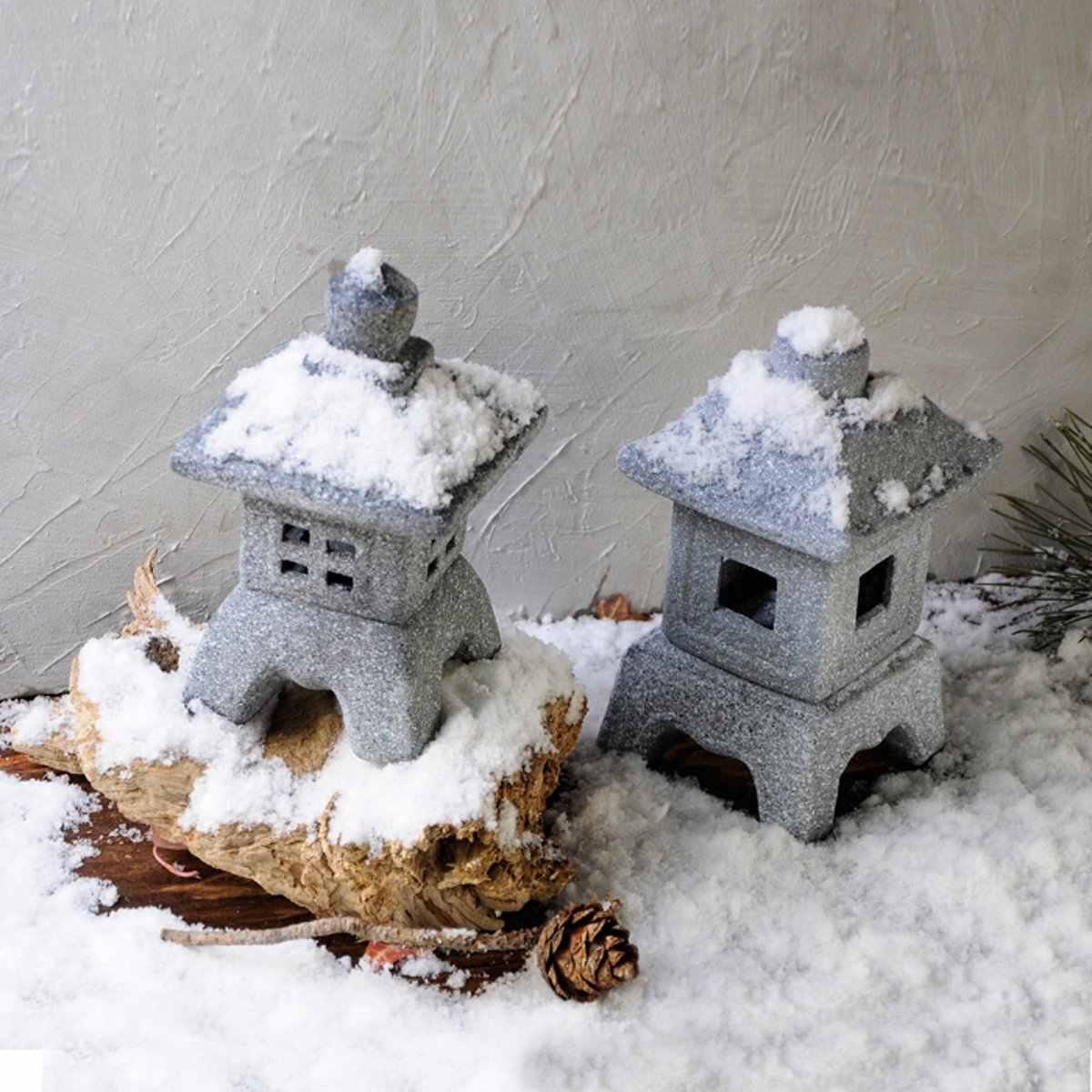 Японский стиль керамический Сад орнамент пагода сад двора скульптура фонарь рукодельные свечи держатель патио домашнее украшение Чайный домик