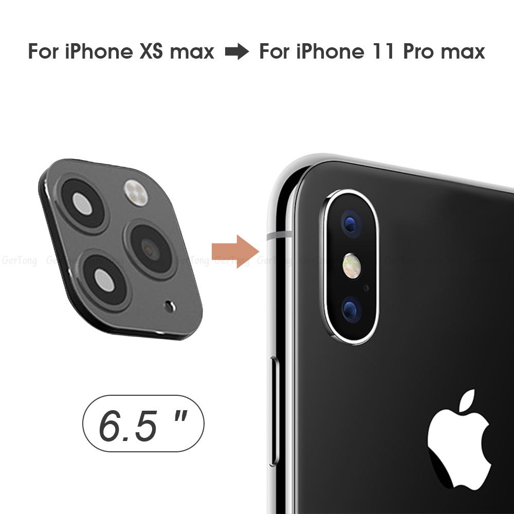 Hca9a0137b00244a2aecd28f7ab764d2ab - 3D Alumium Camera Lens Seconds Change for iPhone 11 Pro Max Lens Ring Cover Sticker For iPhone X R XS MAX Rear Protective Cover