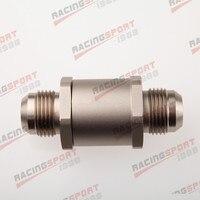 12AN 12 AN Aluminum High Pressure Non Return One Way Check Valve Petrol Diesel