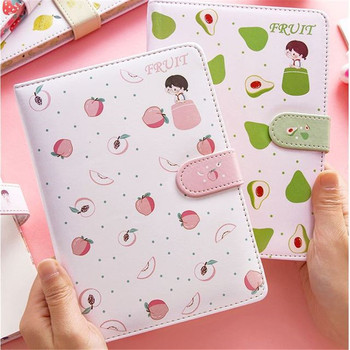 Korean Notebook Diary Creative Stationery Gift for Girls Cute Kawaii Notebooks Planner Notepad Journal Thicken Sketchbook