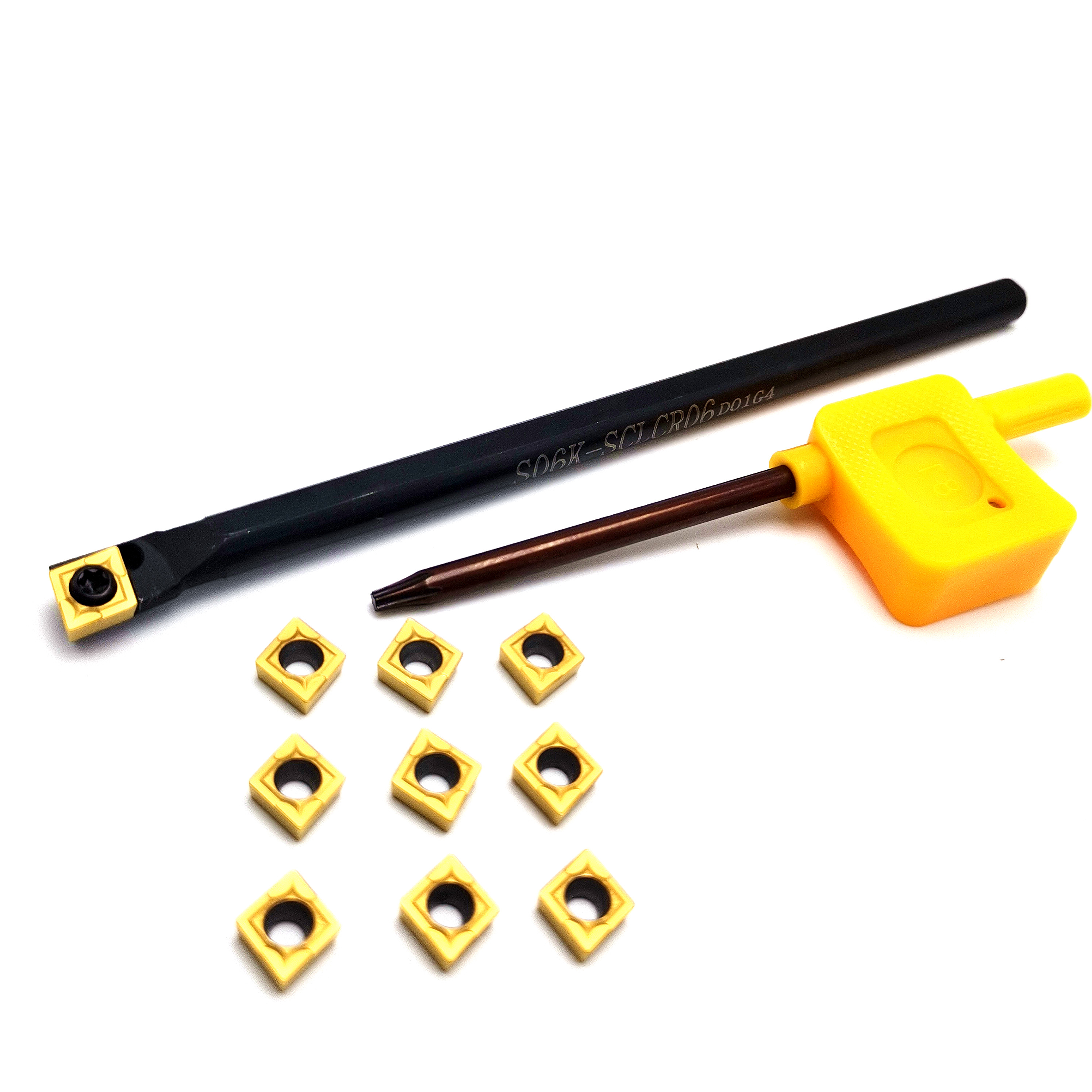 For TCMT110204 Turning Tool Bar S12M-STUCR11 12mm*150mm Holder Portable