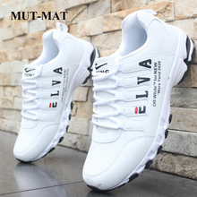 New Year Men's Causal Shoes Plus Velvet Deodorant Sports Sneakers Students Warm