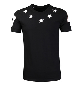 2020 Five Stars Number Men's T Shirt Fashion Brand T Shirt Male 398 Men's Wear Street Men's Wear
