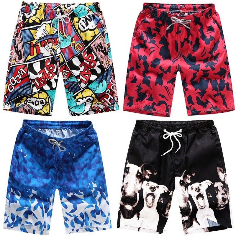 2020 New Summer Casual Shorts Men Printed Beach Shorts Quick Dry High Quality Men Shorts Beachwear Beach Pants