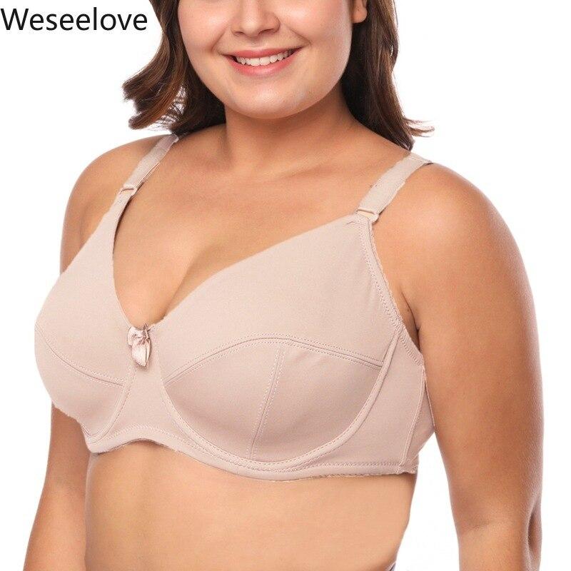 Weseelove EF бюстгальтер размера плюс спортивный бюстгальтер сексуальный пуш-ап бюстгальтер пуш-ап Для женщин нижнее белье для девочек; Спортивн...
