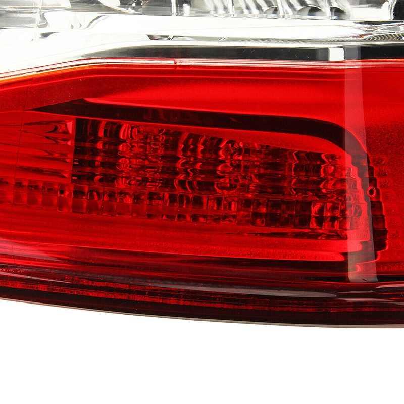 Lámpara de luz trasera de frenos trasero externo derecho con arnés de cables para Nissan Qashqai 2014-2016