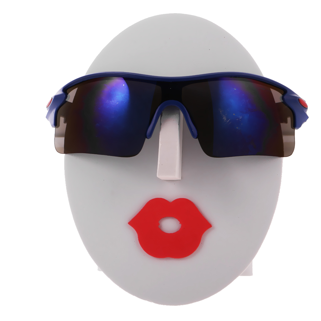 Female Face Glasses Sunglasses Spectacle Sunglass Display Rack Shelf Eyeglasses Show Stand Jewelry Holder White Red