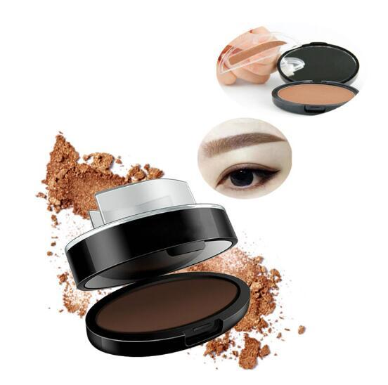Natural Arched Eyebrow Stamp Brow Stamps Powder Pallette Delicated Beauty Makeup Tool Eyebrow Powder seal P367 1