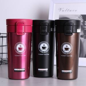 Travel Mug Drinkware Tea-Cup Coffee-Mug Vacuum-Flasks Stainless-Steel Double-Wall Portable