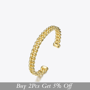 Image 2 - ENFASHION Punk Link Chain Cuff Bracelets Bangles For Women Accessories Gold Color Bracelet Bangle Fashion Jewelry Gifts B192018