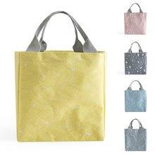 Cooler-Bag Tote Food Picnic Black Termica Beach Women Waterproof New Oxford Kid Bolsa