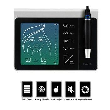 Permanent Makeup tattoo machine Charme Princesse  for Eyebrow Lip Eyeliner MTS PMU rotary tattoo machine pen set
