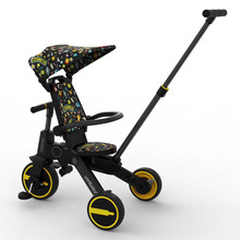Children's tricycle, stroller, artifact, stroller, baby stroller, foldable lightweight baby bicycle