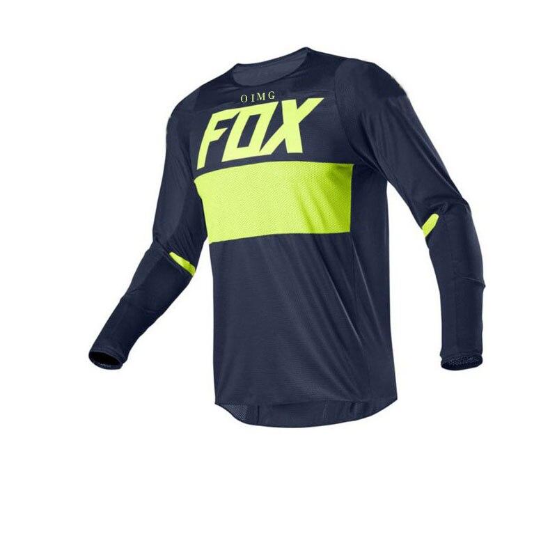 2020 Mountain Bike Motocross Motorcycle Downhill Jersey Off-Road Oimg Bike Locomotive Shirt Off-Road Bike FOX