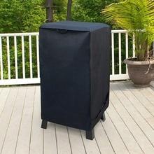 Черная Водонепроницаемая Крышка для барбекю, аксессуары для электрогриля, крышка для гриля от дождя Barbacoa, защита от пыли, уголь, барбекю, защитная крышка