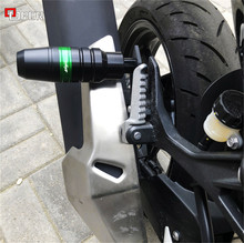Запчасти для мотоциклов, ползунок для выхлопных газов, защита от ударов для KAWASAKI NINJA 400 Ninja400 2018 2019 Z400 Z 400 z400 2019
