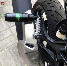 Acessórios da motocicleta peças de escape slider anti acidente protetor para kawasaki ninja 400 ninja400 2018 2019 z400 z 400 z400 2019