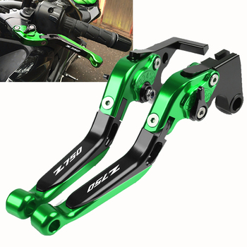цена на Motorcycle brake lever CNC Adjustable Brake Clutch Levers Handle Handbar For Kawasaki Z750 Z-750 2007 2008 2009 2010 2012 2013