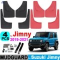 4X Автомобильные Брызговики для Suzuki Jimny Сьерра-JB64 JB74 2019 2020 2021 Брызговики Fender Брызговики спереди и сзади стайлинга автомобилей
