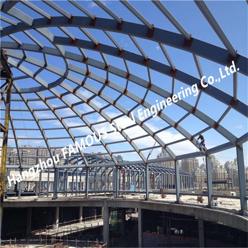 Coal Storage Bunker Domes Roofing Structures For Cement Lignite Clinker Gypsum Slag Storing