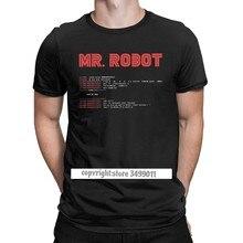 Legal senhor robô topos t camisa programador de programação tees código desenvolvedor tshirts men tripulação pescoço algodão fitness roupas tamanho grande