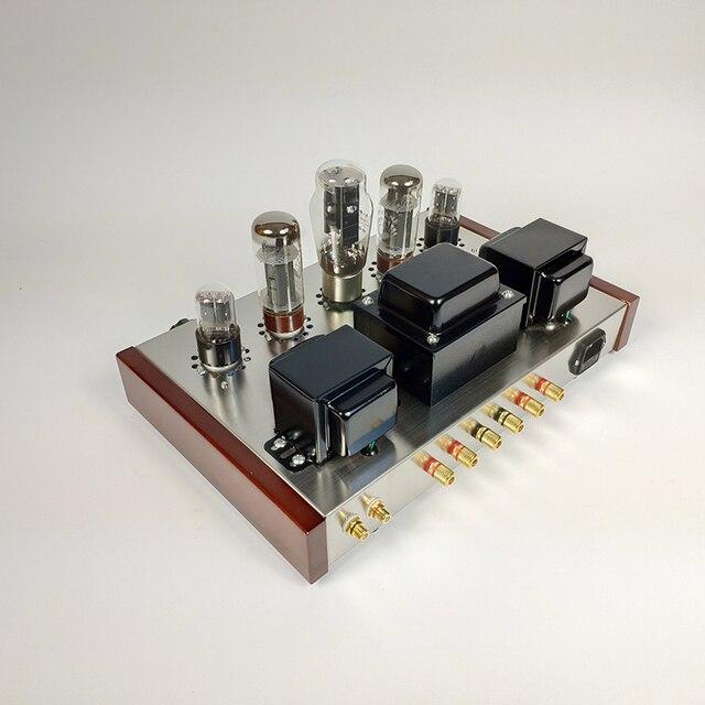 Kit de amplificador de potencia de tubo de extremo único Hifi versión montada 5Z3P + 6H9C + potencia de salida de EL34-B 13W + 13W