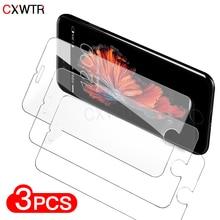 아이폰 12 11 프로 X XS 최대 xr에 대 한 3Pcs 보호 유리 아이폰 7 8 6 6s 플러스 5 5S SE 2020 화면 보호 필름에 대 한 강화 유리