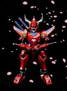 Image 4 - CMT במלאי דאטונג עצרת דגם ללא מעצורים לוחמי Yoroiden סמוראי טרופר להבה של אלוהים ריו אנימה פעולה איור